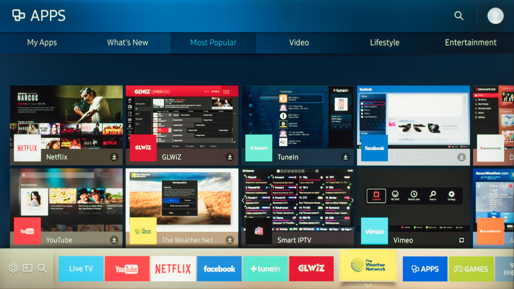 Samsung KS8000 Smart TV Picture