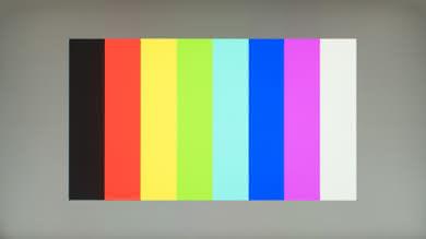 HP OMEN 27 Color bleed vertical