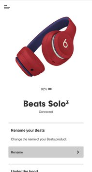 Beats Solo3 2019 Wireless App Picture
