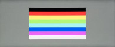 Dell U3417W Color bleed horizontal