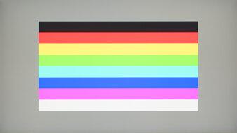 LG 27GN950-B Color Bleed Horizontal