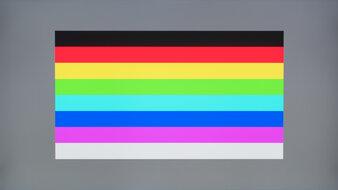 ASUS TUF Gaming VG27AQL1A Color Bleed Horizontal