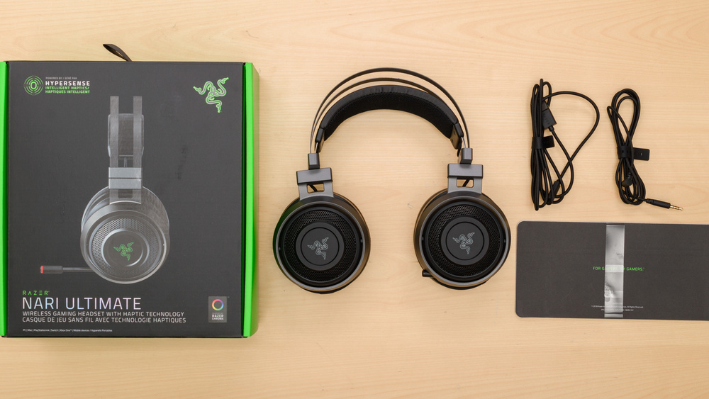 Razer Nari Ultimate Wireless In the box Picture