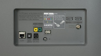 LG B6 Rear Inputs Picture