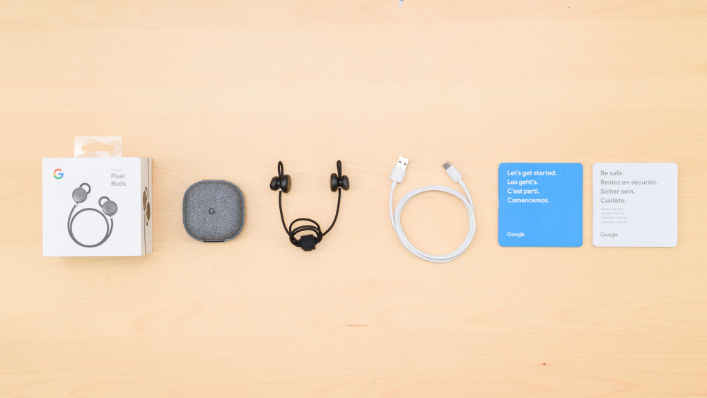 Google Pixel Buds Wireless In the box Picture