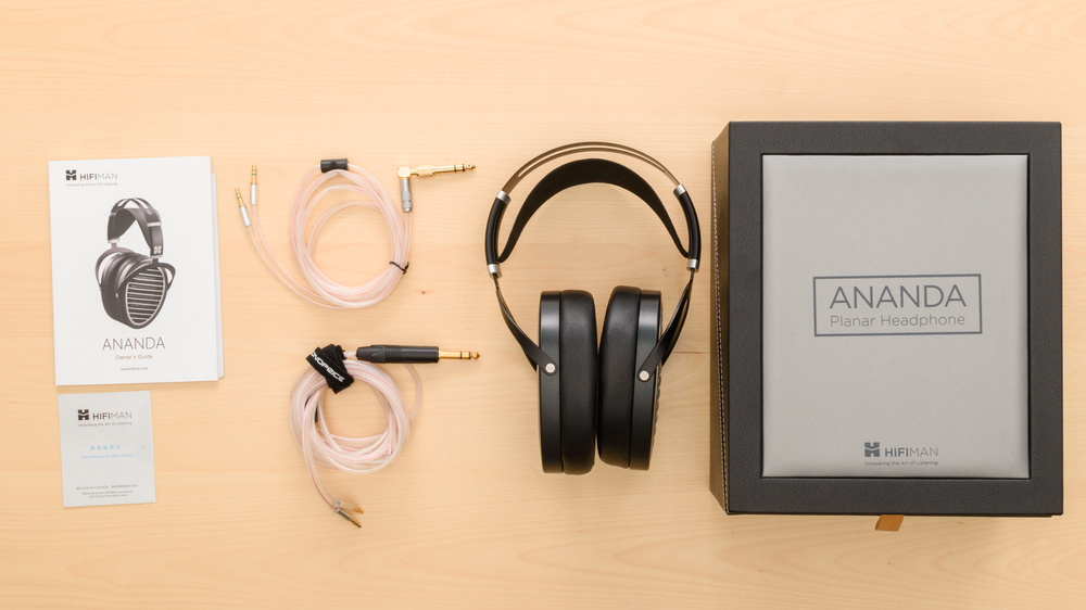 HiFiMan Ananda In the box Picture