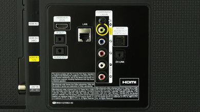 Samsung H6350 Rear Inputs