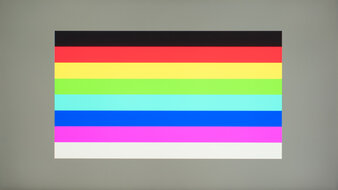 Gigabyte G27Q Color Bleed Horizontal