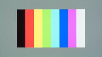 LG 48 C1 OLED Color Bleed Vertical