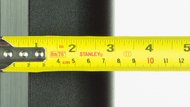 Sony X810C Thickness Picture
