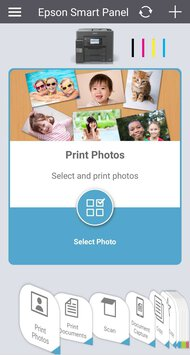Epson EcoTank Pro ET-5850 App Printscreen
