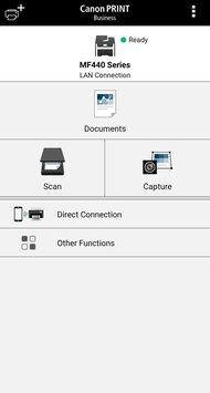 Canon imageCLASS MF445dw App Printscreen