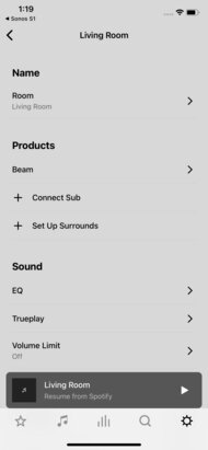Sonos Beam App image