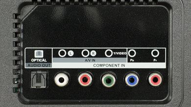TCL D100 Rear Inputs Picture
