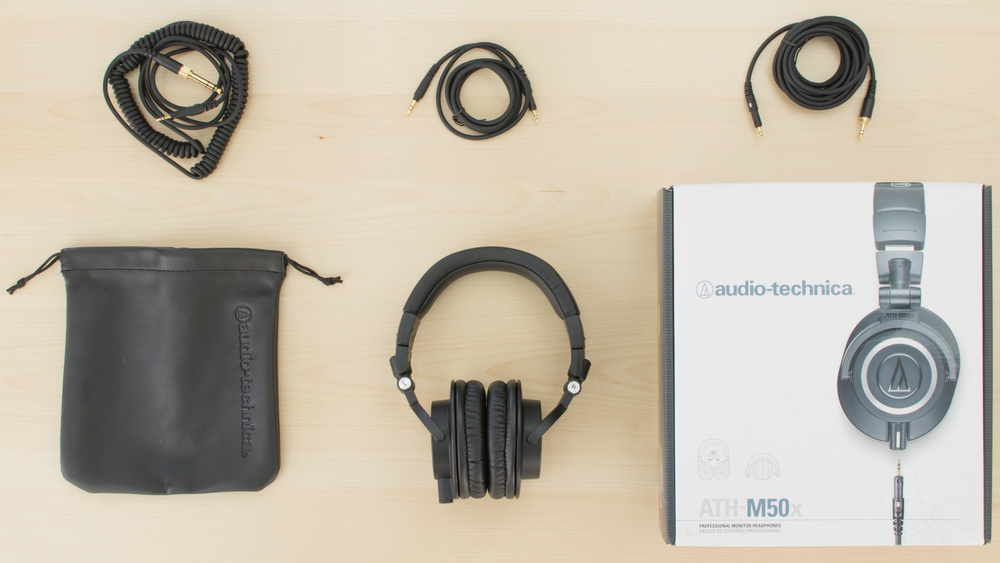 Audio-Technica ATH-M50x In the box Picture