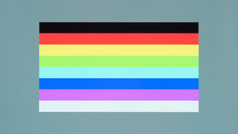 LG 48 CX OLED Color Bleed Horizontal