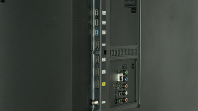 Samsung JU6500 Side Inputs Picture