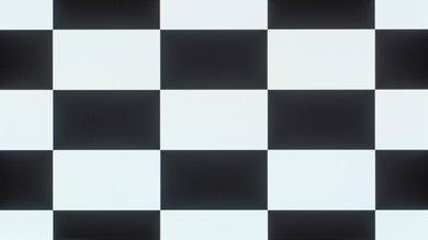 LG E6 Checkerboard Picture
