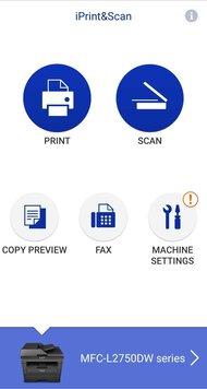 Brother MFC-L2750DW App Printscreen