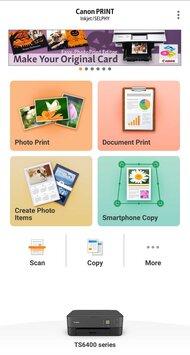 Canon PIXMA TS6420 App Printscreen