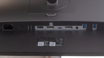 Dell UltraSharp U2520D Inputs 1