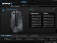 ROCCAT Burst Core Software settings screenshot