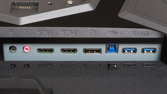 Gigabyte AORUS FI27Q-X Inputs 1