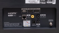 LG BX OLED Rear Inputs Picture