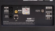 LG CX OLED Rear Inputs Picture
