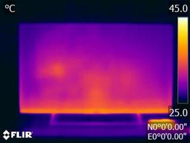 Sony X800E Temperature picture