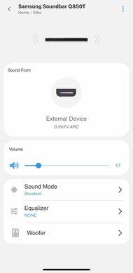 Samsung HW-Q850T App image