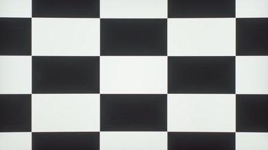 Samsung KU7500 Checkerboard Picture