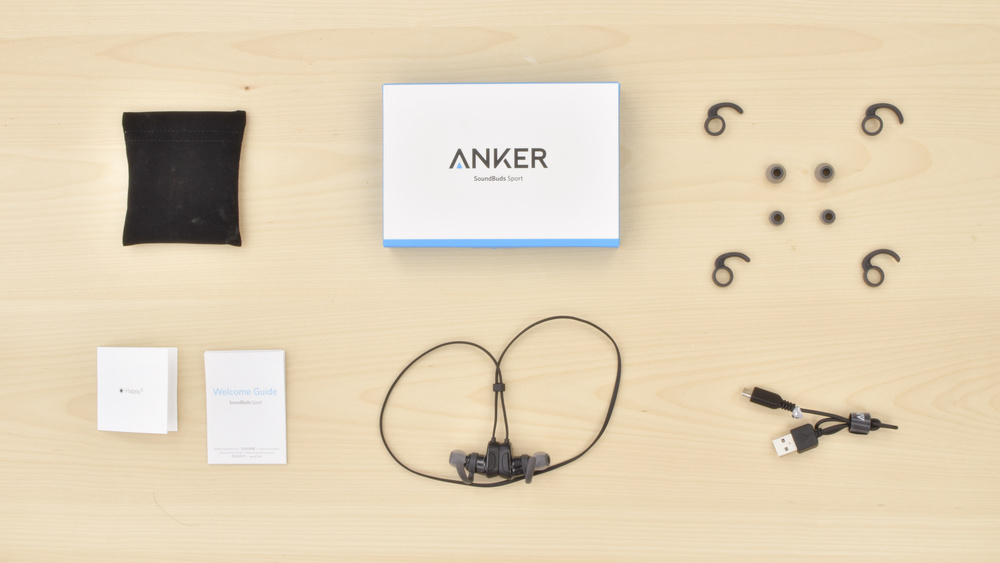 Anker SoundBuds Sport Wireless In the box Picture