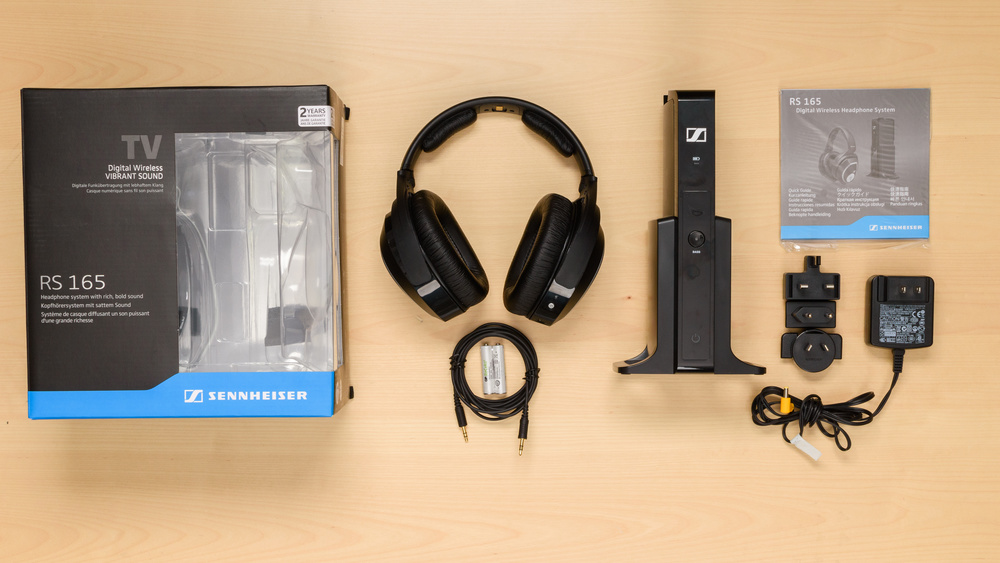 Sennheiser RS 165 RF Wireless In the box Picture