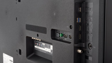 Sony X800G Side Inputs Picture