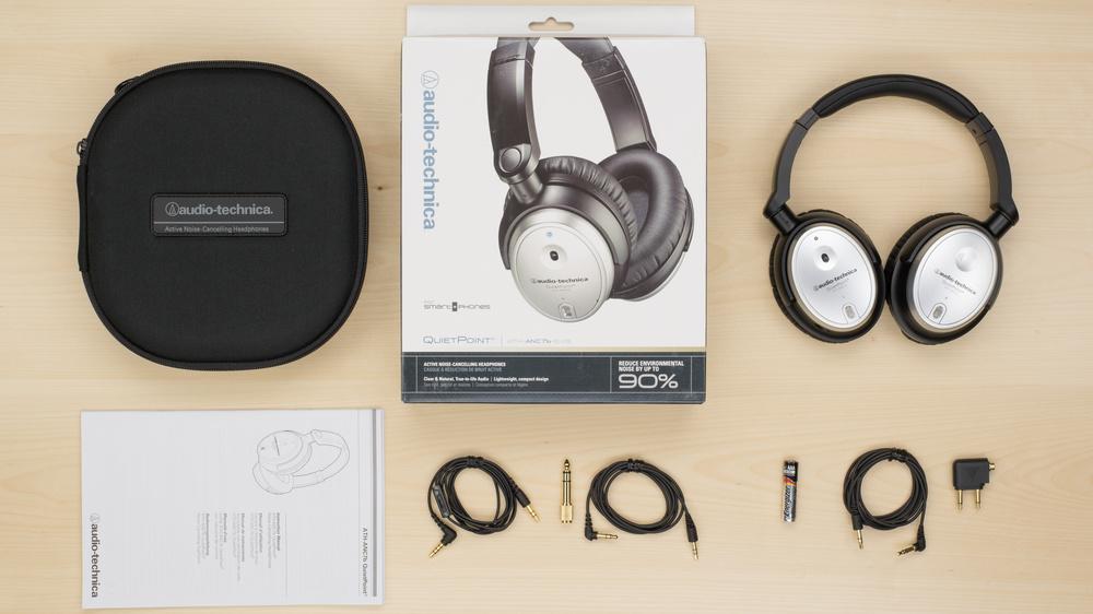 Audio-Technica ATH-ANC7B SVIS In the box Picture
