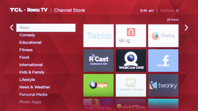 TCL US5800 Apps Picture