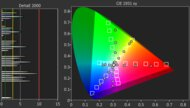 Toshiba Fire TV 2020 Color Gamut DCI-P3 Picture