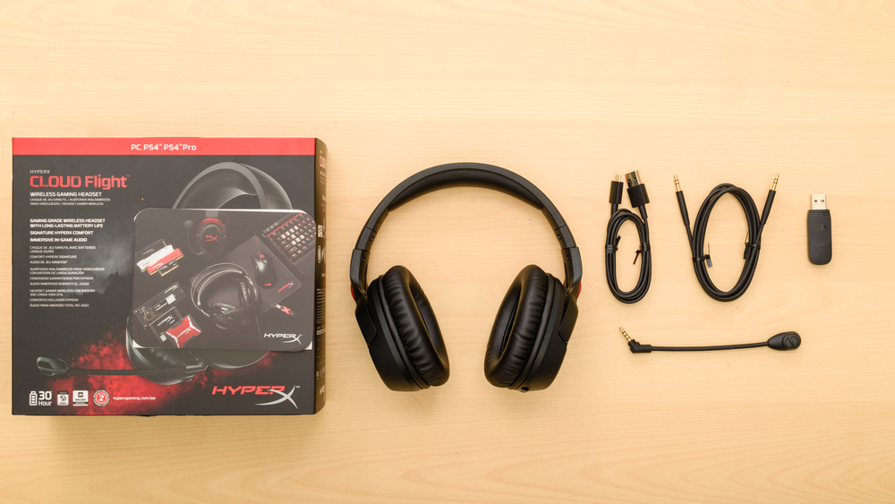 HyperX Cloud Flight In the box Picture
