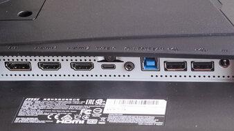 MSI Optix MAG274QRF-QD Inputs 1