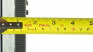Samsung HU8550 Thickness