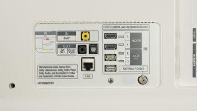 LG SJ8500 Rear Inputs Picture