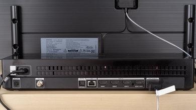 Samsung Q9FN/Q9/Q9F QLED 2018 Rear Inputs Picture