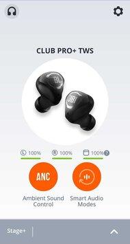 JBL CLUB PRO+ TWS True Wireless App Picture