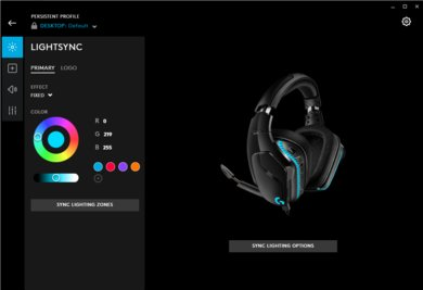 Logitech G635 Gaming Headset App Picture