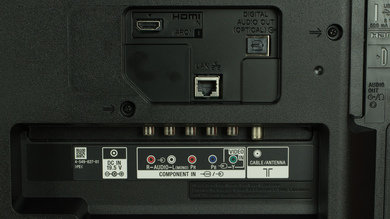 Sony R510C Rear Inputs Picture