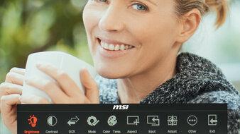 MSI Optix MAG161V OSD Picture