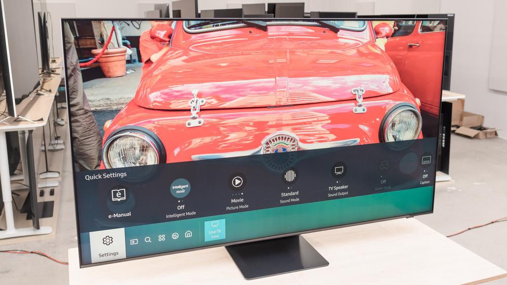 Samsung Q800T 8k QLED Picture