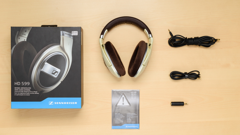 Sennheiser HD 599 In the box Picture