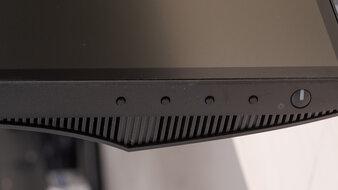 Dell UltraSharp U2520D Controls Picture